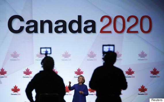 hillary clinton canada 2020