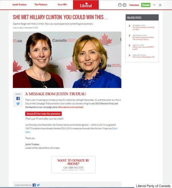 hillary clinton liberal party website