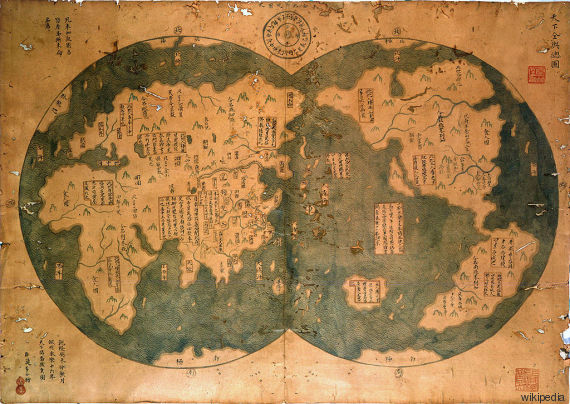 mappa zheng he
