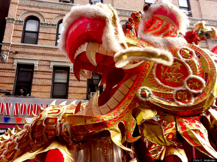 new york citys chinese new year parade 2012 sweeps through chinatown photos - Chinese New Year 2012