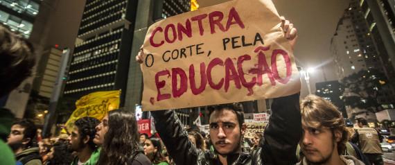 PROTEST EDUCATION BRAZIL