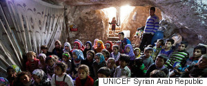 SYRIAN CAVE CLASSROOM