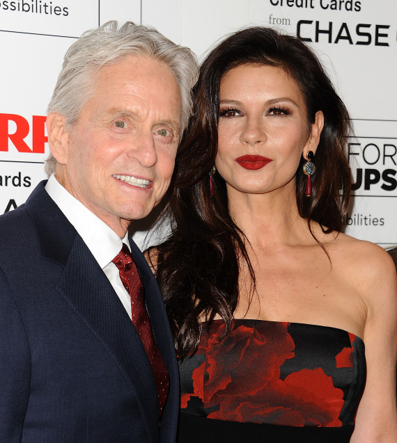 michael douglas and catherine zetajones