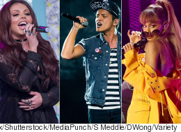 'The Big Three': New Music From Bruno Mars, Ariana Grande And Little Mix
