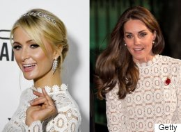Kate Middleton And Paris Hilton Just Had A Twinning Moment. Really.