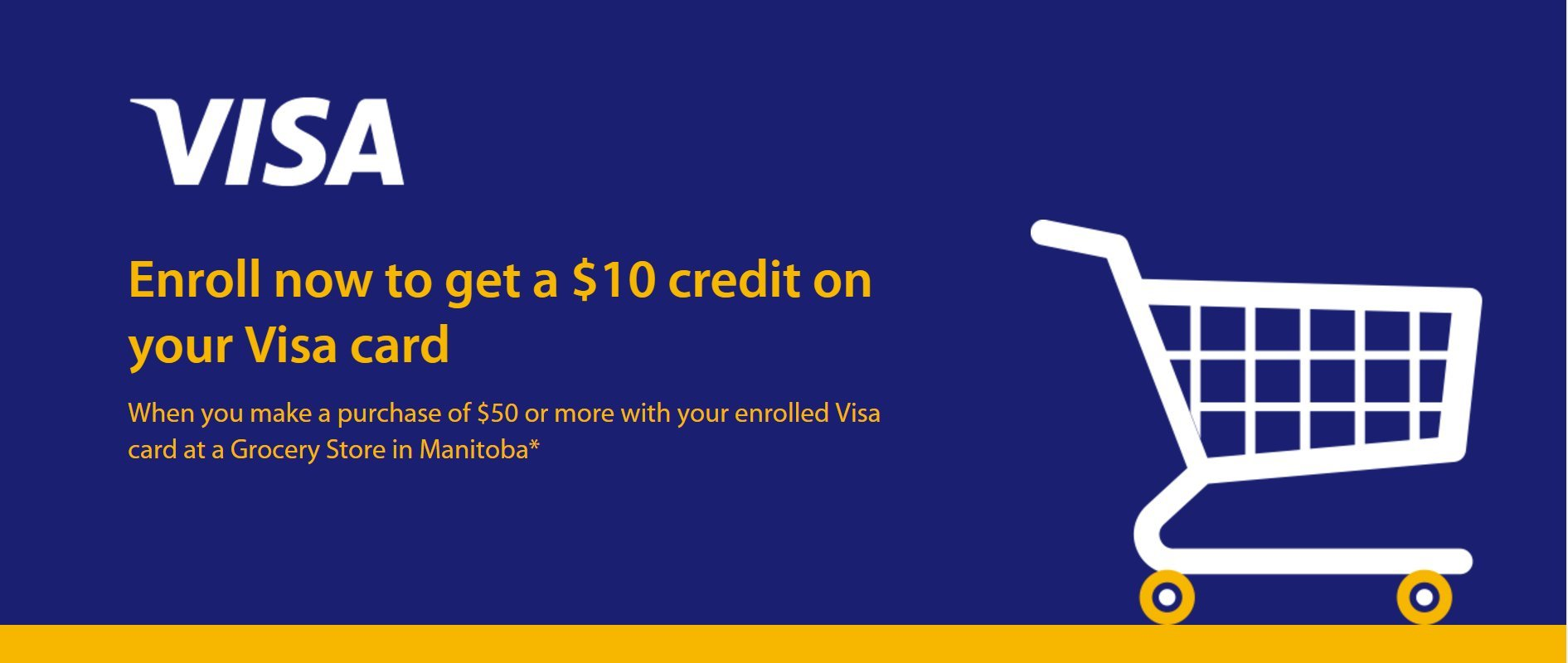 visa grocery promotion