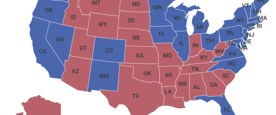 ELECTION MAP USA