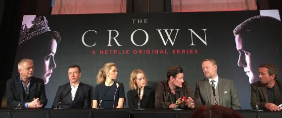 the crown rueda de prensa