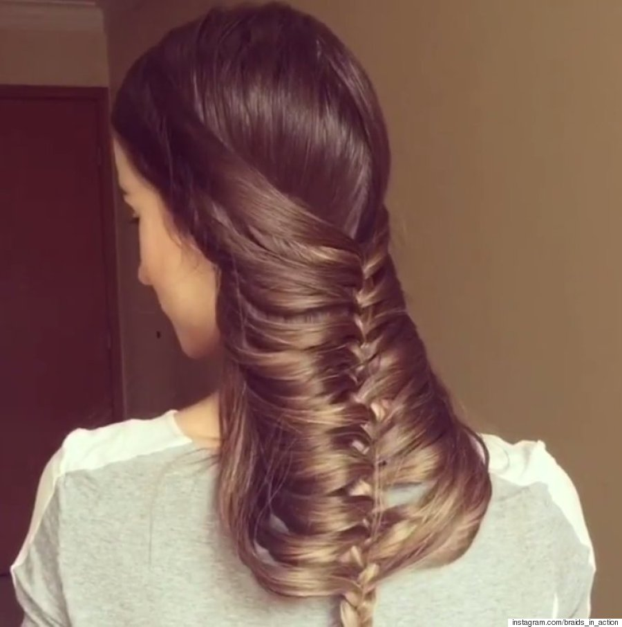 under chin braid