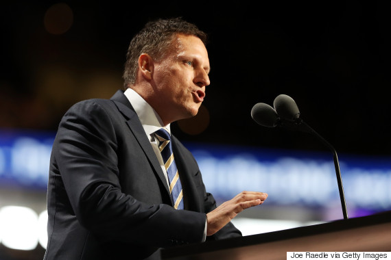 pay pal peter thiel republican