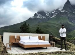 Dieses Hotel hat kein Dach, keine Toilette, keine Wände und ist trotzdem ausgebucht - Video
