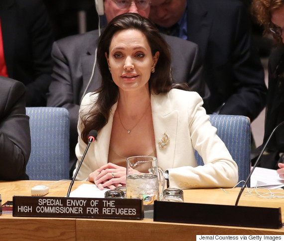 angelina jolie united nations