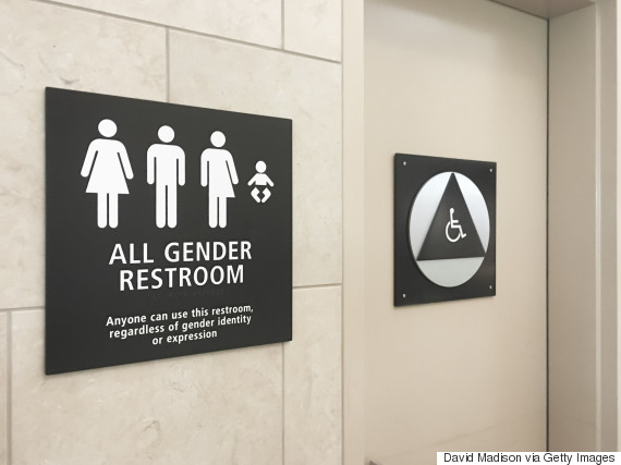 transgender washroom
