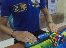 Les images du nouveau record du monde de cube Rubik sont hallucinantes