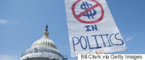 MONEY IN POLITICS PROTEST