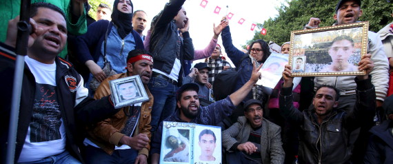 TUNISIA INJURIED REVOLUTION