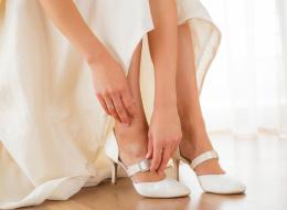 قبل ليلة العمر كيف تختارين الارتفاع الأمثل لحذاء الزفاف؟