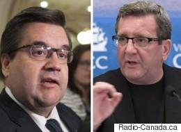 Coderre, Labeaume et Lehouiller parlent de la présidentielle