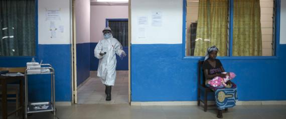 EBOLA LIBERIA HOSPITAL