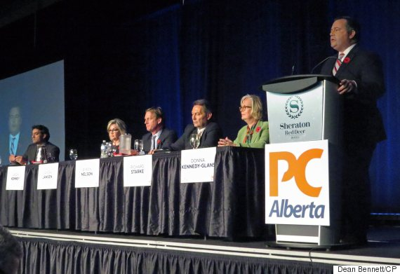 alberta pc leadership race