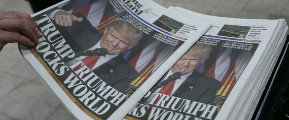 NEWSPAPER TRUMP