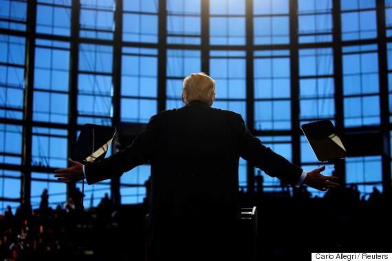 donald trump behind