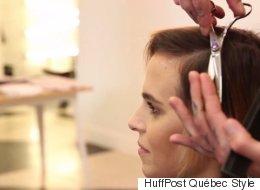 Coupe garçonne: une métamorphose cheveux très réussie pour Jenny
