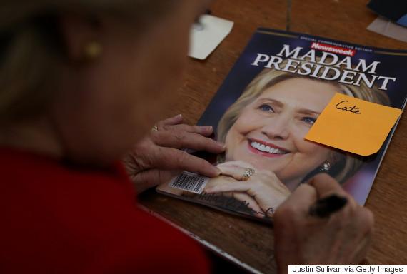 newsweek madam president