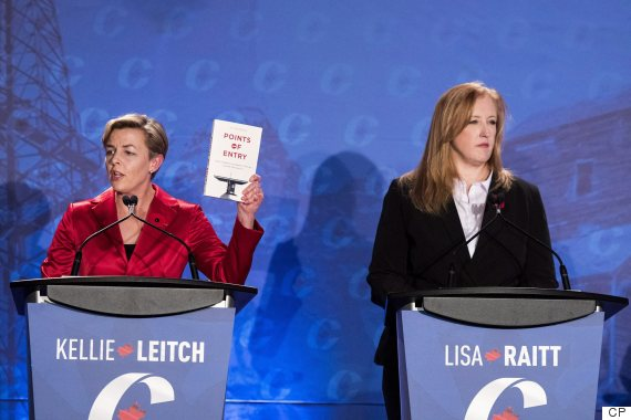 kellie leitch lisa raitt