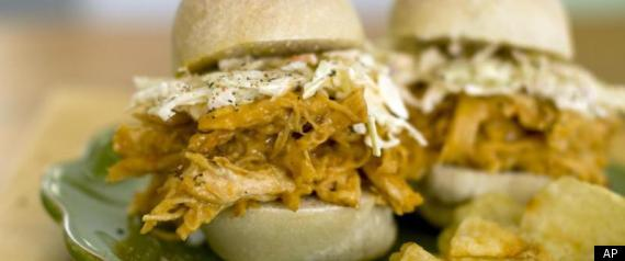 MANGO CHICKEN SLIDERS