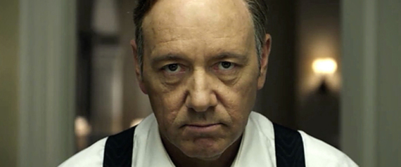 FRANK UNDERWOOD HOUSE OF CARDS KEVIN SPACEY