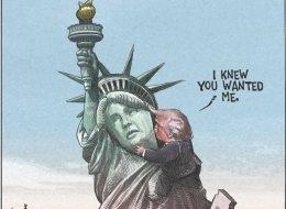 رسامو الكاريكاتير يبكون أميركا بعد فوز ترامب.. هكذا تفاعل العالم مع الحدث