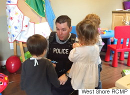 Mounties Step In To Babysit At B.C. Daycare