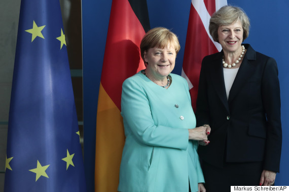 angela merkel theresa may