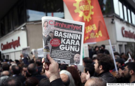 cumhuriyet protest