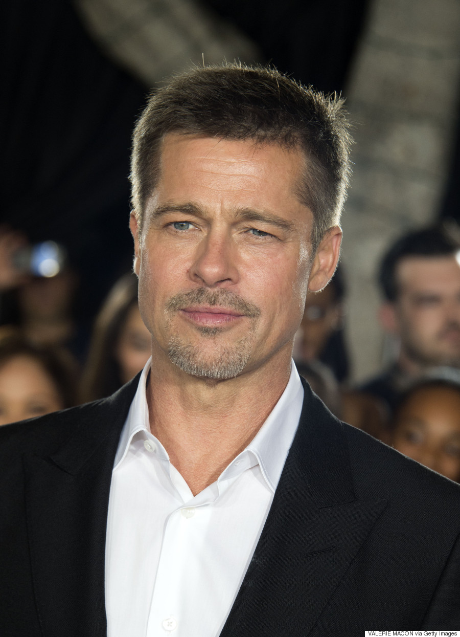 Brad Pitt Breaks His S...
