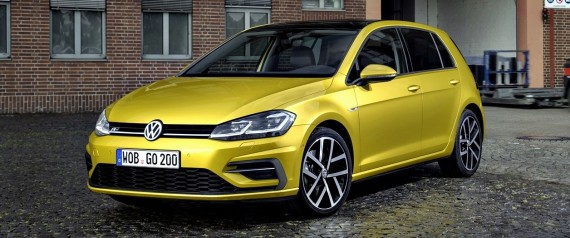 volkswagen d voile sa nouvelle golf 2017. Black Bedroom Furniture Sets. Home Design Ideas