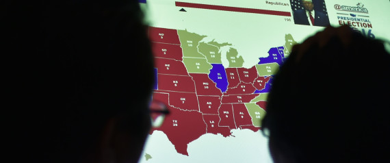 VOTE MAP 2016
