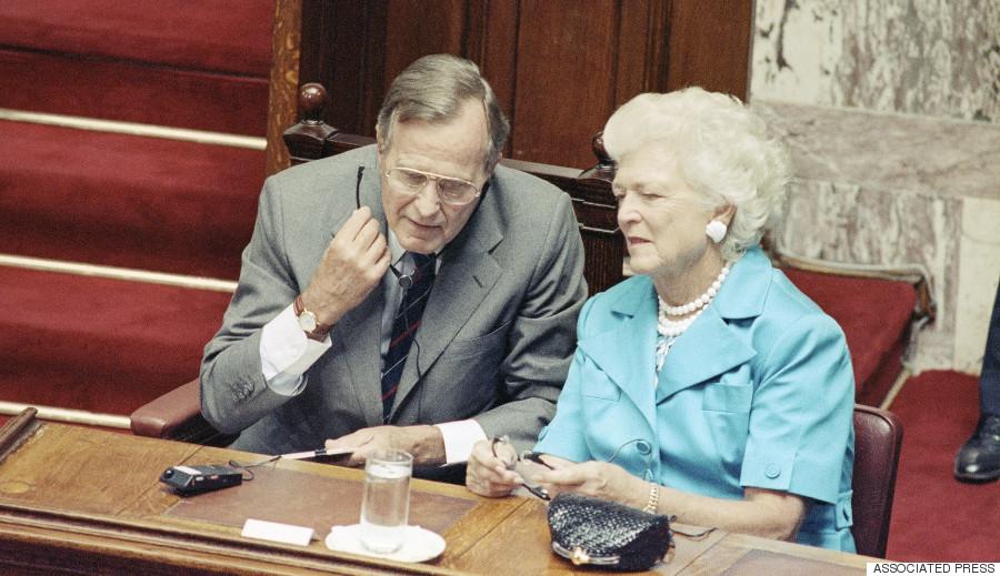 bush greece 1991