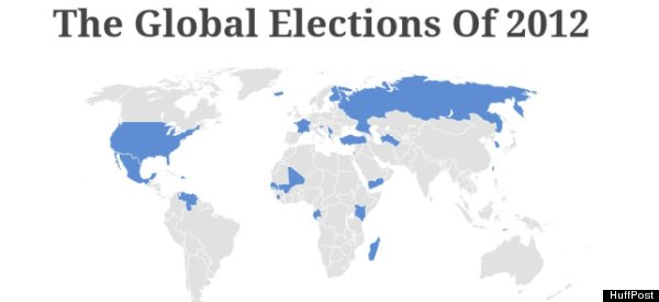 ELECTION EXTRAVAGANZA: 2012 Will Tell All (MAP)