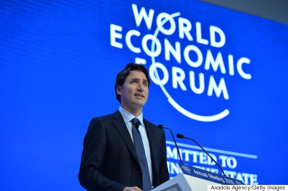 justin trudeau world economic forum