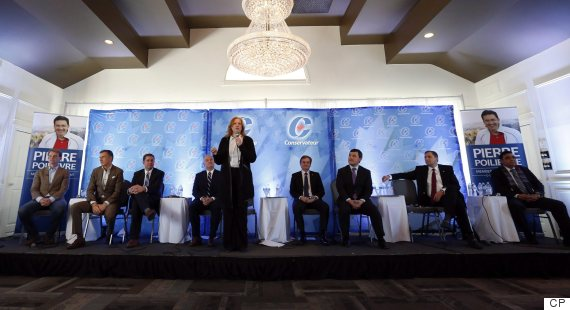 conservative leadership debate greely