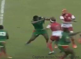 Cette bagarre générale lors d'un match de Rugby entre la Tunisie et le Sénégal fait le tour du monde (VIDÉO)