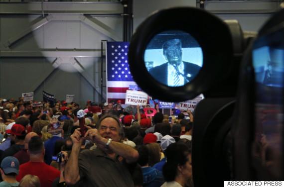 trump camera monitor