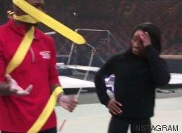 La olímpica Simone Biles y sus compañeros se unen al 'Mannequin Challenge'
