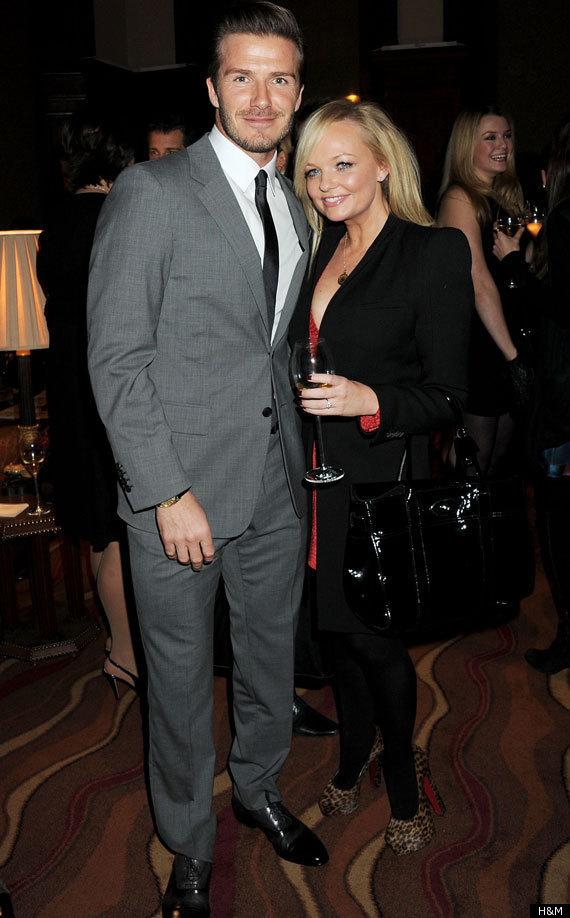 Among those invited were Victoria's ex Spice Girl chum Emma Bunton ...
