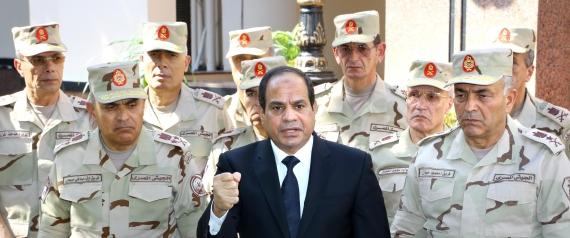 ABDEL FATTAH ELSISI EGYPT ARMY