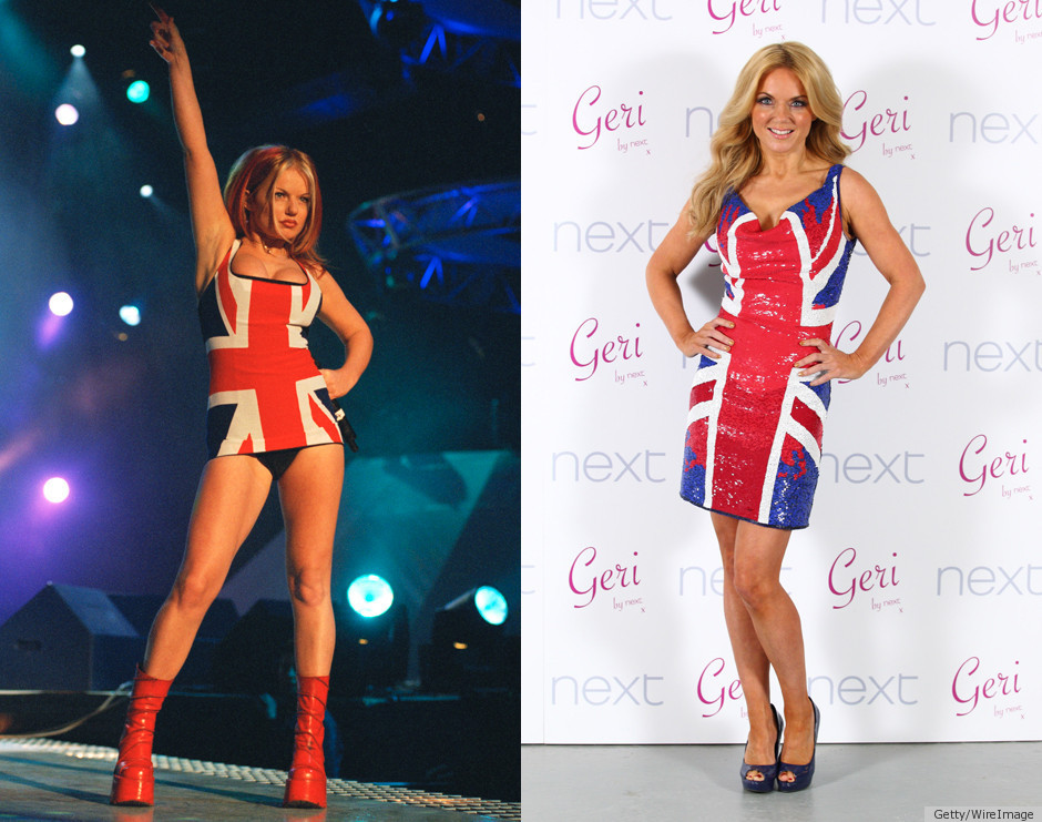 Spice Girls Union Jack Dress Gets A Makeover By Geri ...