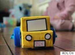 How To Transform A Milk Carton Into A Toy Car
