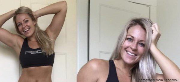 Questa fitness blogger ha postato una foto onesta per lanciare un importante messaggio
